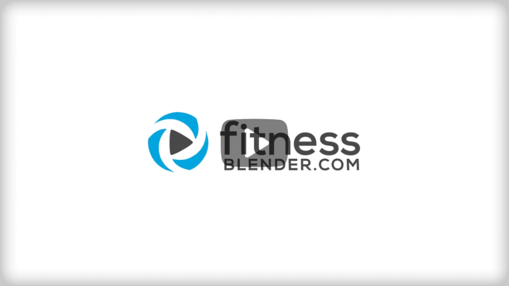 Fitness blender video holder